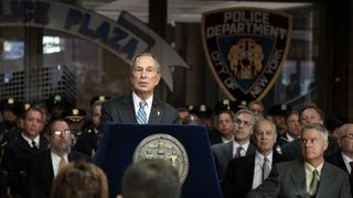 Mayor Bloomberg Speaks at NYPD Memorial Day Ceremony