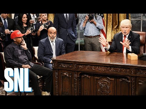 Chris Michaels - SNL Mocks Donald Trump's Meeting With Kanye West