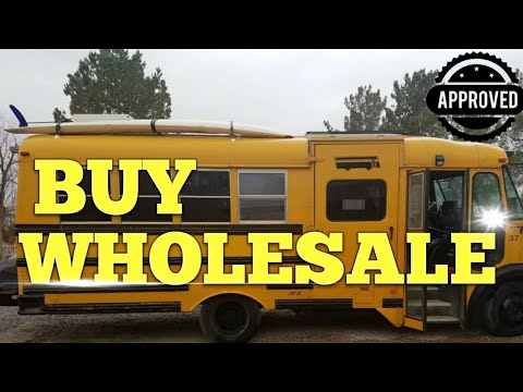 How to buy a $5,000 School Bus for $1,600 | School Bus Sale