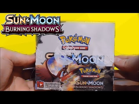 Pokémon Burning Shadows Booster Box Opening!! (Part 2)