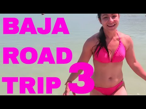Una Hermosa Playa/ Baja California Road Trip/ Loreto Parte #3
