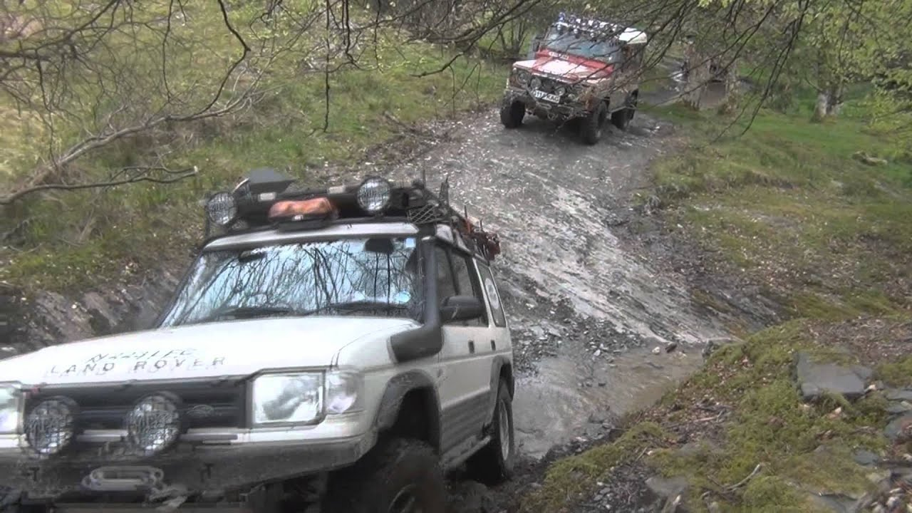 Green Laning Mid Wales With North Wales Land Rover Club
