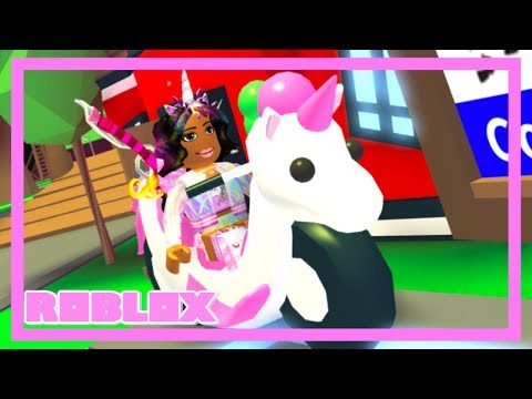 This UNICORN BIKE Is Almost Impossible To Get... (Roblox Adopt Me)