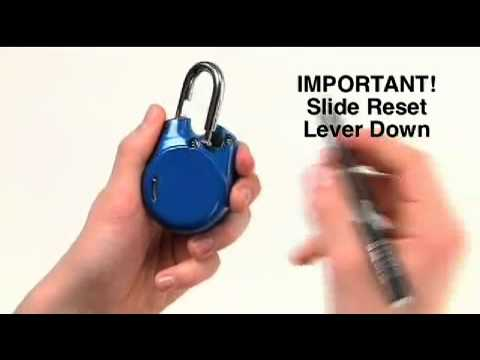 2012 04 01 Master Lock Speed Dial 1500id Instructions4 Youtube