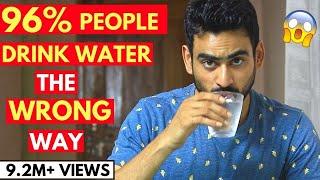 5 Reasons You Are Drinking Water the Wrong Way thumbnail