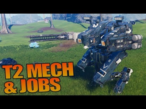 T2 MECH & JOBS | Pantropy | Let's Play Gameplay | S01E07
