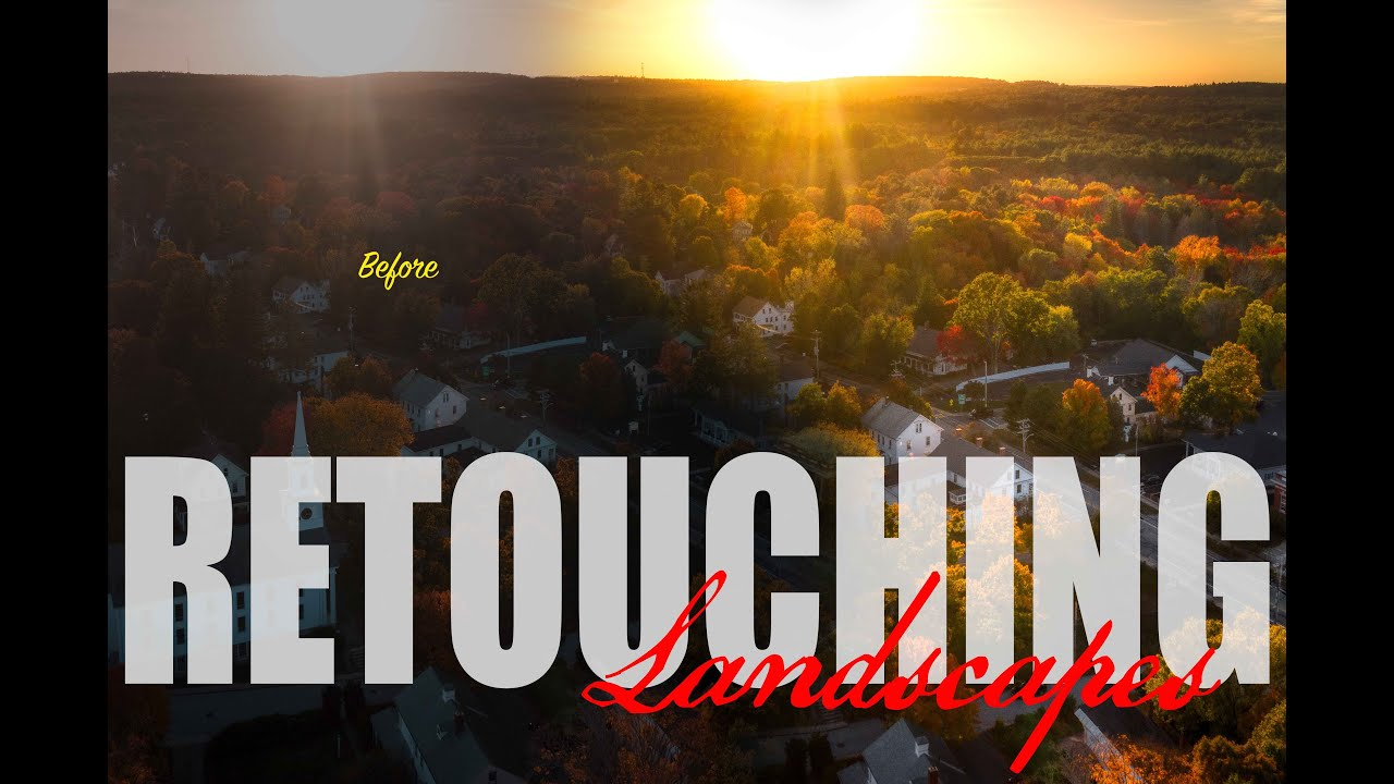 retouching landscapes