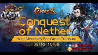 اكسب استون +6 من ايفنت Conquest of Nether - كونكر اون لاين
