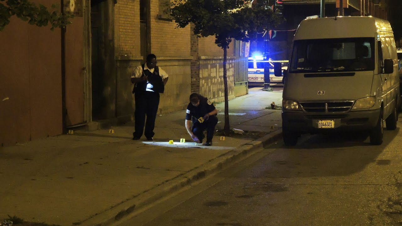 7 Wounded In Shooting Near Playground on Chicago's West Side