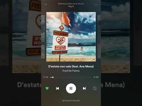 D'estate non vale (Feat.Ana mena)