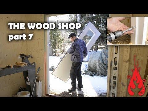 Building the wood shop 7