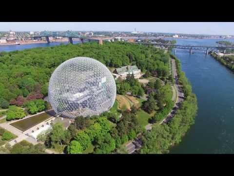 Biosphere Drone Footage - Mesmerizing