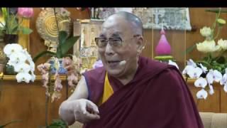 День 1. Встреча Далай-ламы с участниками программы «Юные лидеры» Института мира США