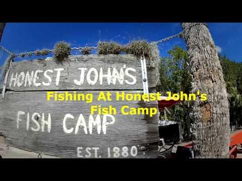 Fishing At Honest John's Fish Camp
