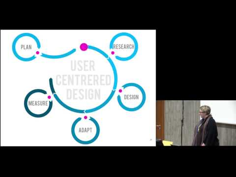 Image from Keynote: User-centered software projects