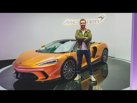 NEW McLaren GT - FIRST LOOK & Exhaust Sound!