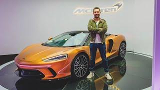 NEW McLaren GT - FIRST LOOK & Exhaust Sound!