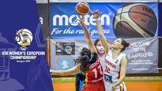 Spain v Germany - Full Game - FIBA U18 Women's European Championship 2019