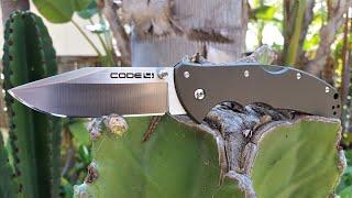 Cold Steel Code 4 Tri Ad Lock Knife Video