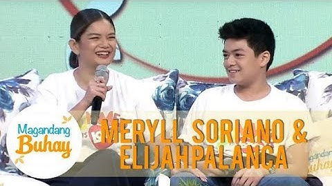 Meryll talks about her son's relationship with his grandfather Willie Revillame | Magandang Buhay