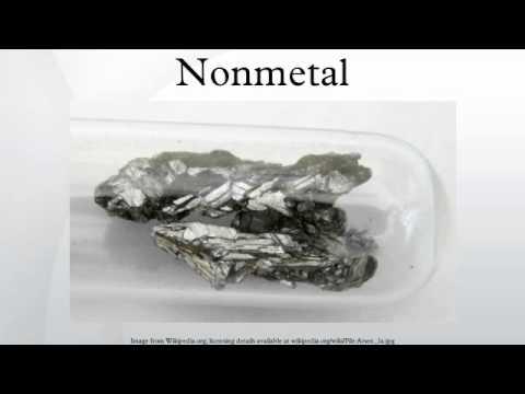 Nonmetal