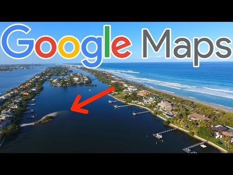 Using Google Maps To Find HIDDEN Fishing Spots
