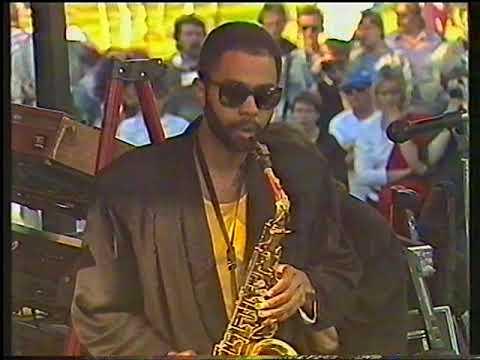 Miles Davis Band. Pori Jazz Festival 1987.