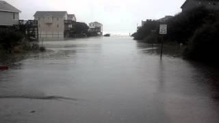 Hurricane Sandy: Ocean Tide Over Highway 12
