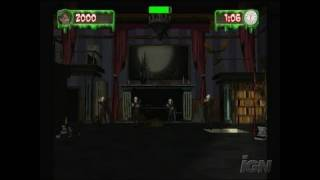 Goosebumps Horrorland Nintendo Wii Gameplay - Flash Fright