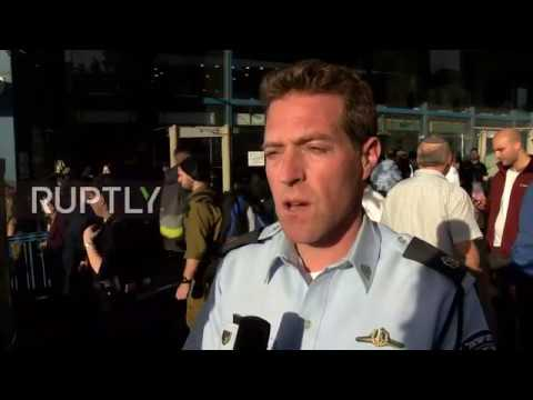 Israel: Security guard 'in serious condition' after being stabbed at Jerusalem bus station