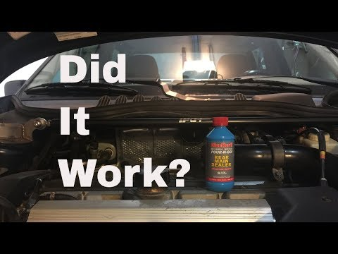 Does Blue Devil Rear Main Sealer Really Work? Here's a Quick