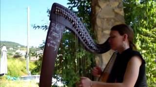 Naruto - Sadness & Sorrow on celtic harp