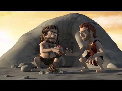 Очень смешной мультик про каменный век