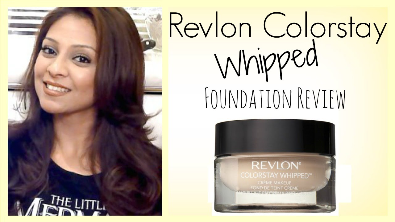 Revlon Colorstay Whipped Foundation Review │ 330 True Beige - YouTube
