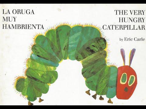 english-and-spanish---the-very-hungry-caterpillar- -la-oruga-muy-hambrienta