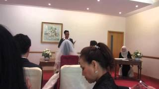 Mark and Palakorn's Thai wedding at Camden Registery Office , London UK