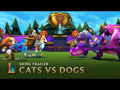 Cats VS Dogs | Skins Trailer - League of Legends