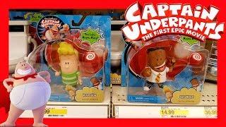 Captain Underpants The Fisrt Epic Movie Toy HUNT - Target 2017