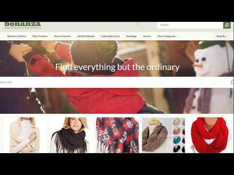 BONANZA - New Printful Online Store Marketplace Platform - Sell Over 200 Products Through Printful