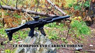 cz scorpion carbine forend on pistol sbr evo