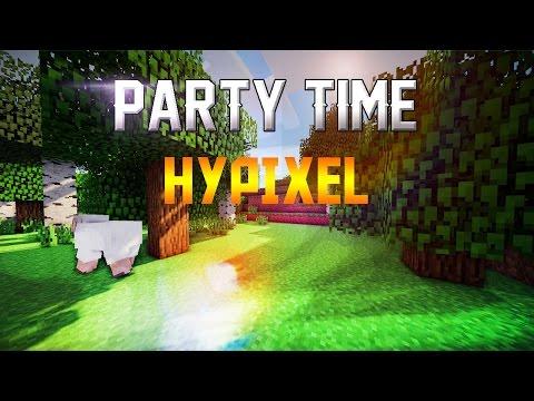 Minecraft Hypixel | I am a party animal