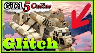 GTA 5 - Cargobob GLITCH: Cant hold on to Cars or Tanks! (GTA 5 Online Glitch Test)