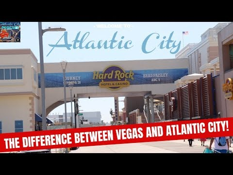 The BIG Difference Between Las Vegas And Atlantic City NJ !