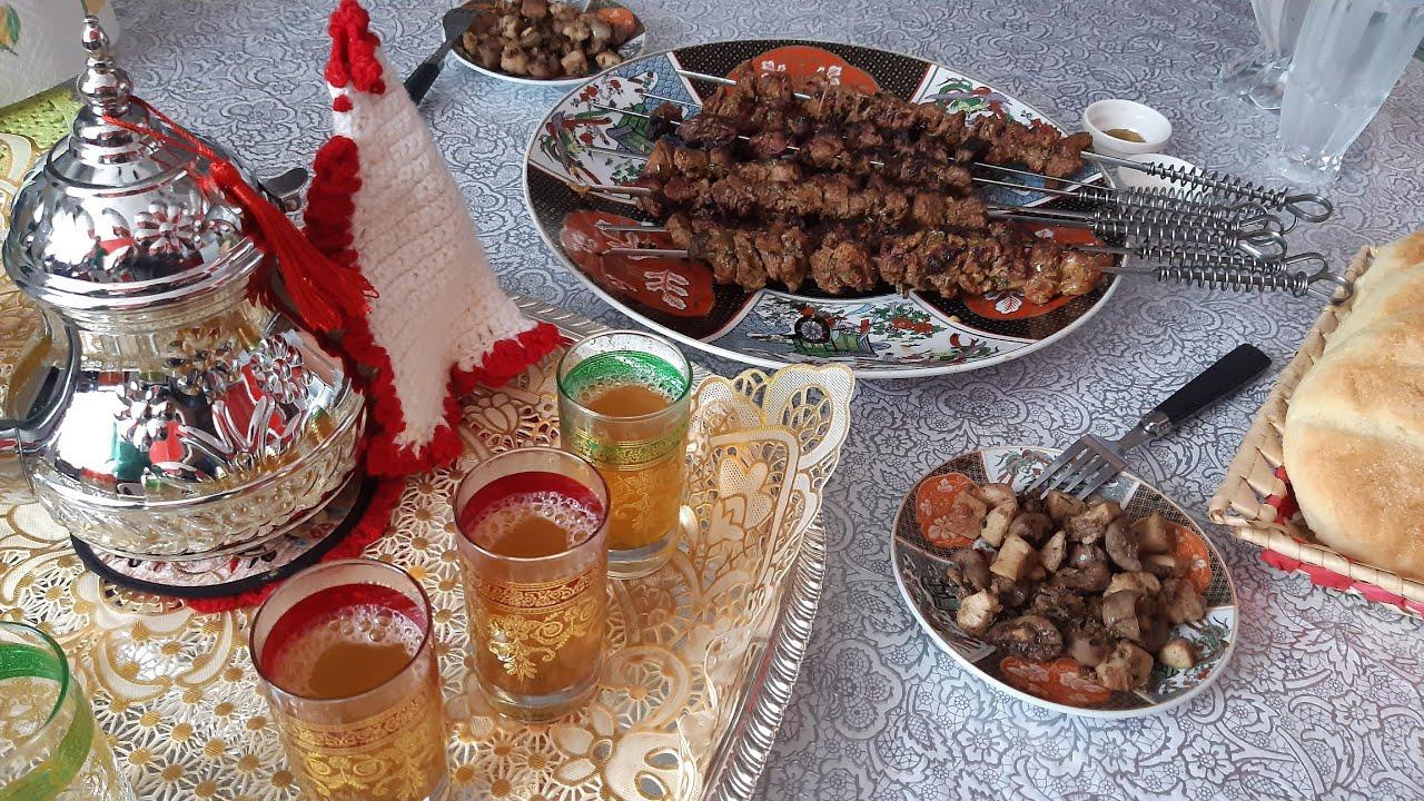 روتين فطور أيام العيد 😋مقيلة الكلاوي والفولات+قطيبات بمكون يخليهم رطبين و فتيين يدوبو ذوبان فالفم
