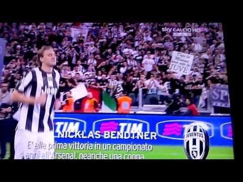 Juventus Campione d'Italia... Bendtner saluta le m