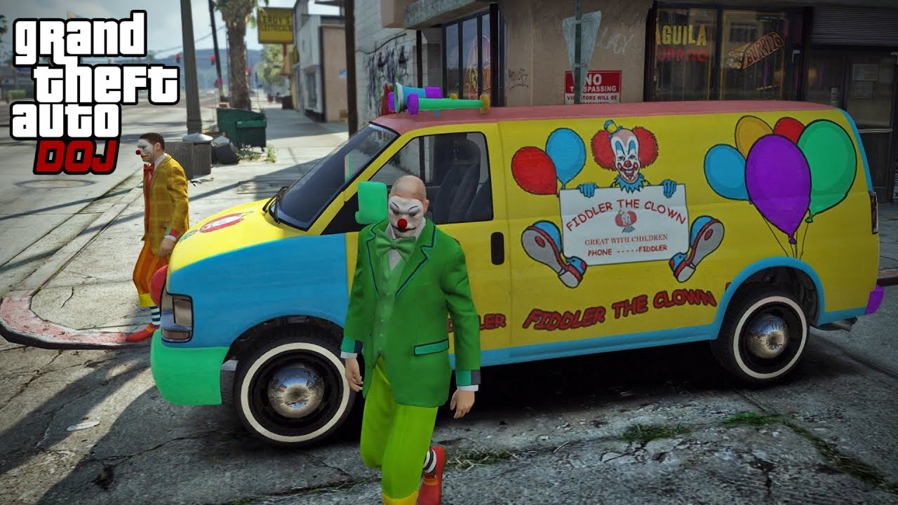 gta 5 roleplay doj 212 the trivia clowns criminal youtube