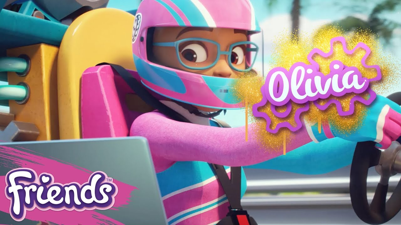 Tech Olivia Lego Friends Character Spot Youtube