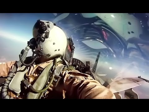 USMC F/A-18 Fighter Jets + Inflight Pilot Cockpit Camera
