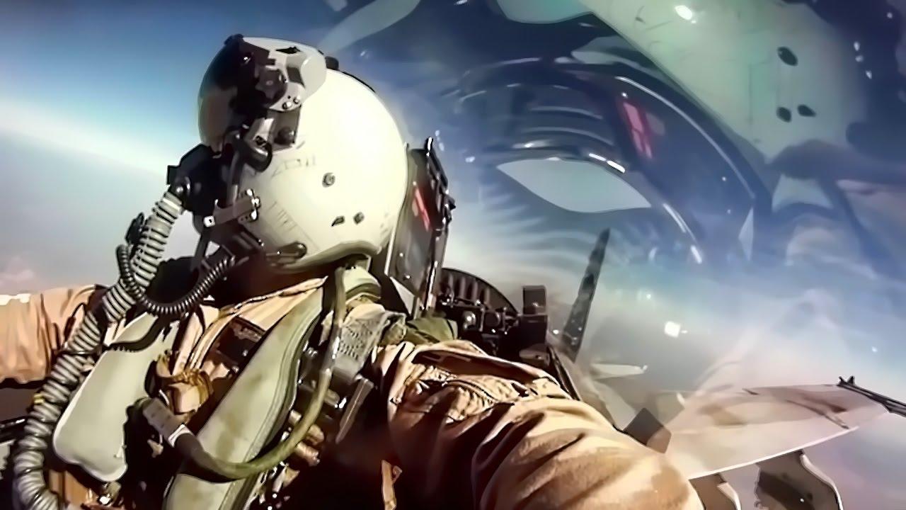 USMC F/A-18 Fighter Jets + Inflight Pilot Cockpit Camera ...