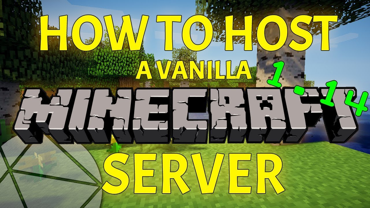 How To Make a Minecraft 1 14 Server (Hosting a Vanilla Server is EASY)
